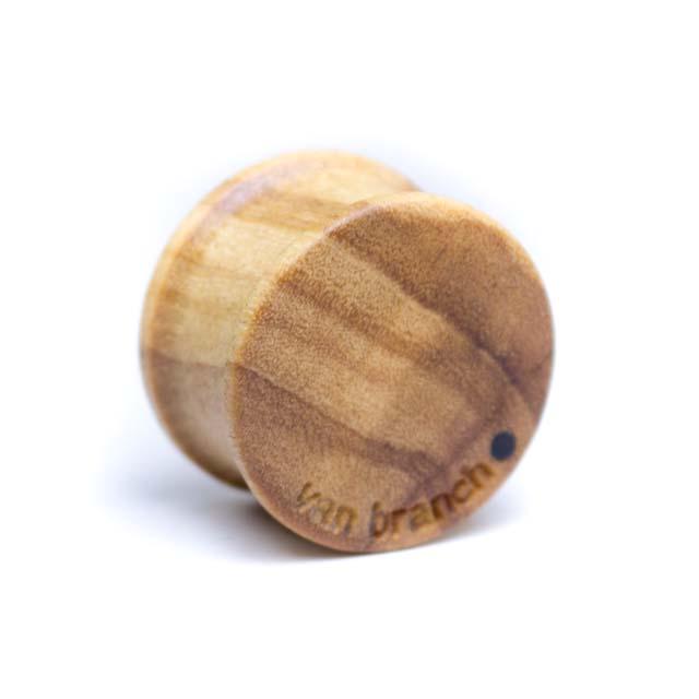 Holz Plug Bär Olivenholz - van branch - Back