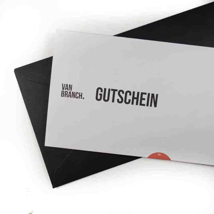 Van branch Gutschein