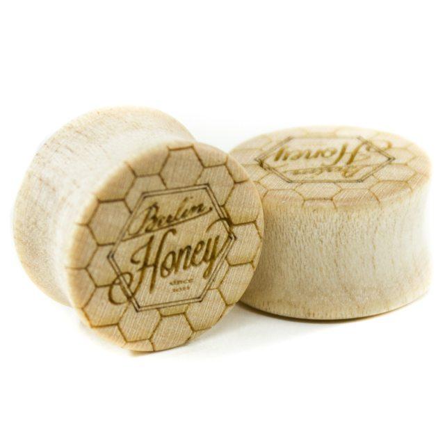 Holz Plug Berlin Honey Ahorn - van branch - Paaransicht