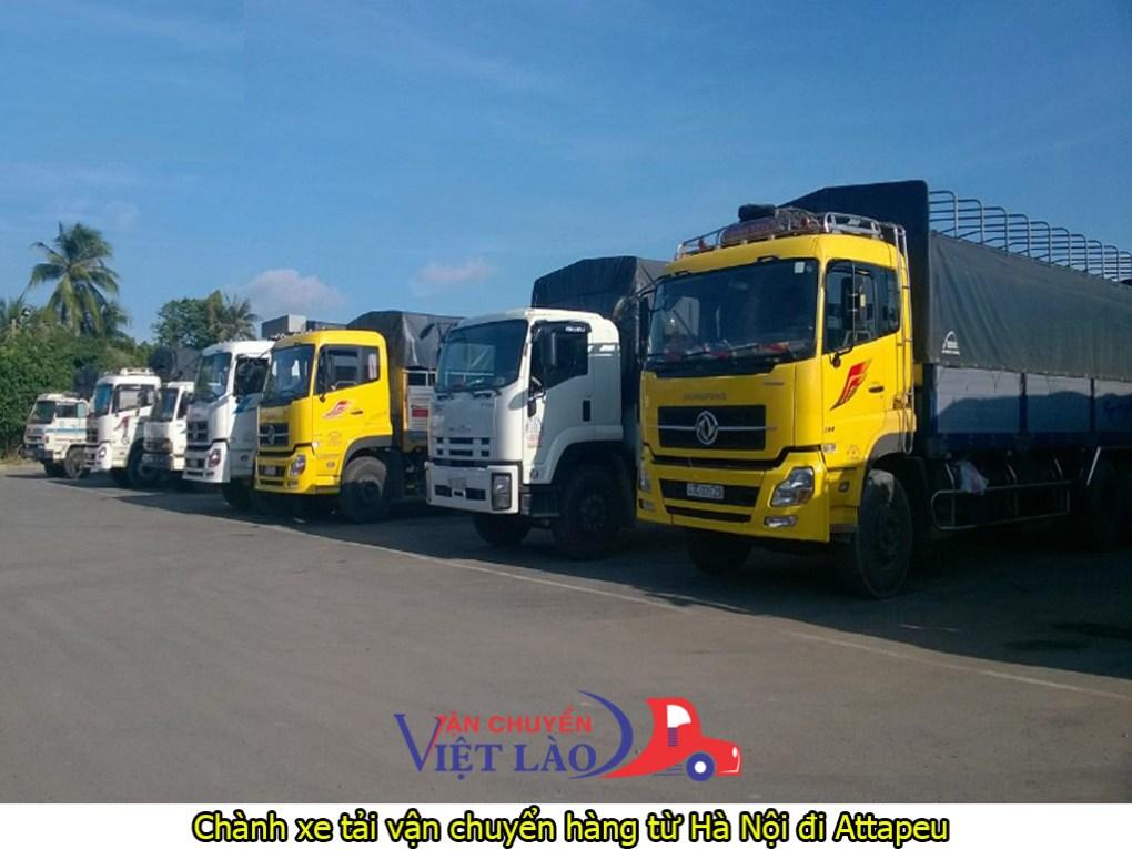 chành xe tải vận chuyển hàng từ Hà Nội đi Attapeu