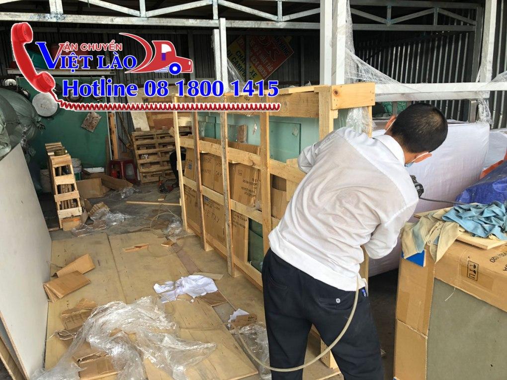 Dịch vụ đóng kiện đóng gói hàng hóa tại kho ở Hà Nội