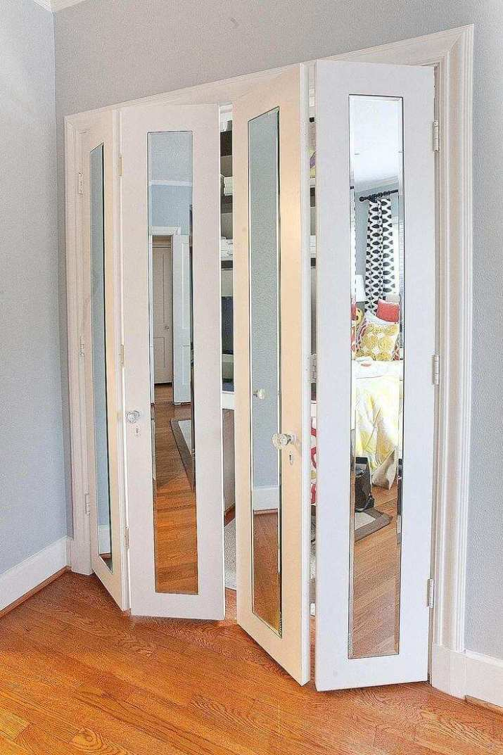 types of closet doors