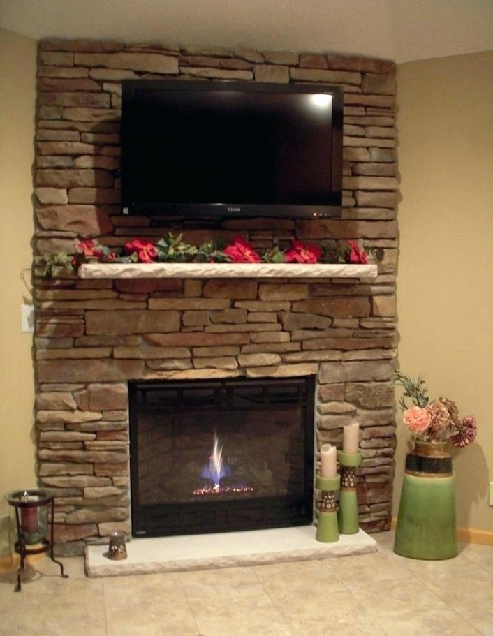 corner fireplace tv stand for 55-inch tv