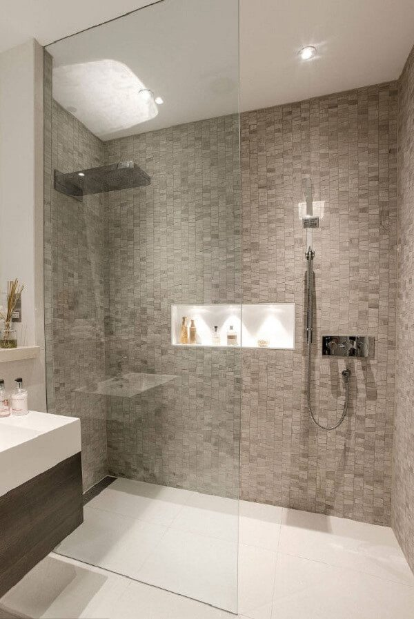walk in shower ideas without doors