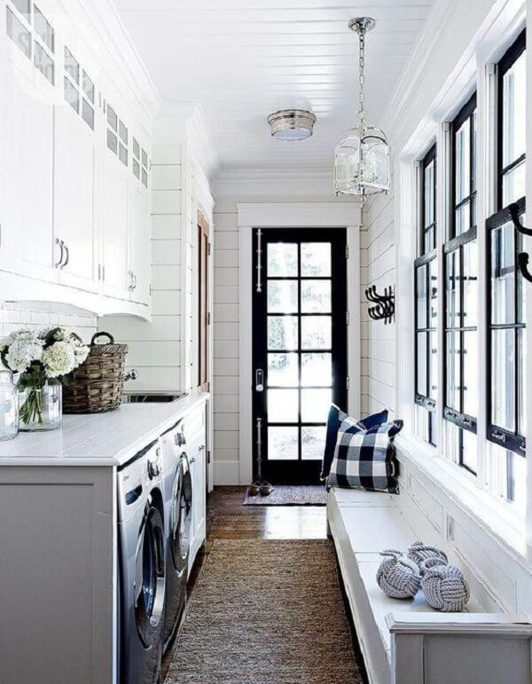 farmhouse laundry room sink