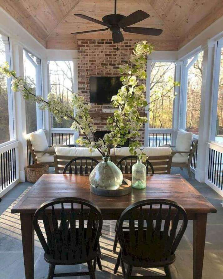 how to build a four season room on a deck