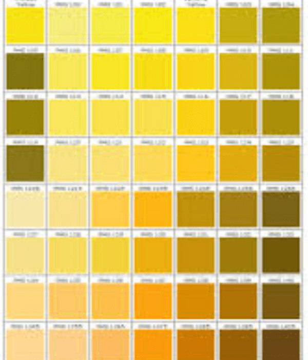 shades of dark yellow