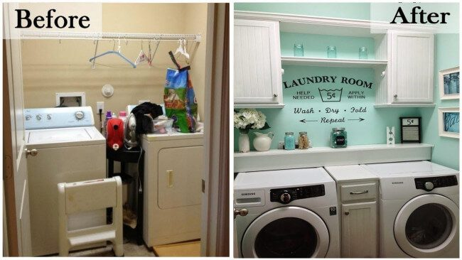 laundry room basement ideas