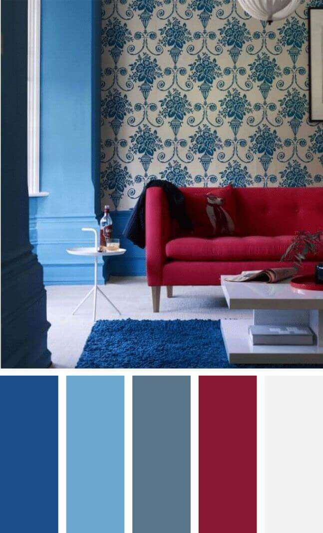 living room color schemes ideas