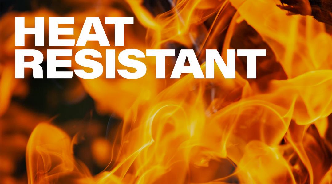 heat resistant banner