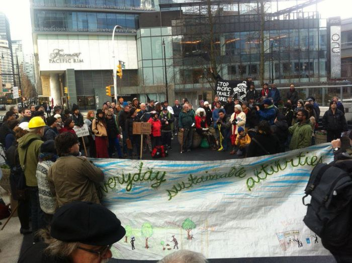 Image result for Wet'suwet'en protest