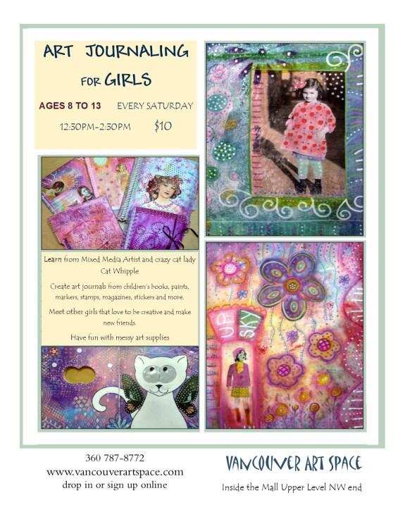 girls art journal revised time