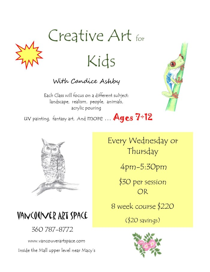 kids creative with candice