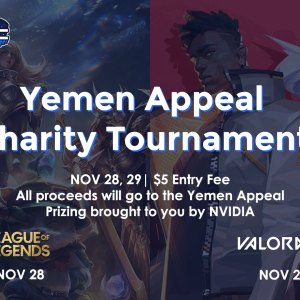 UBC Esports x UBC Red Cross Yemen Appeal Charity Tournament