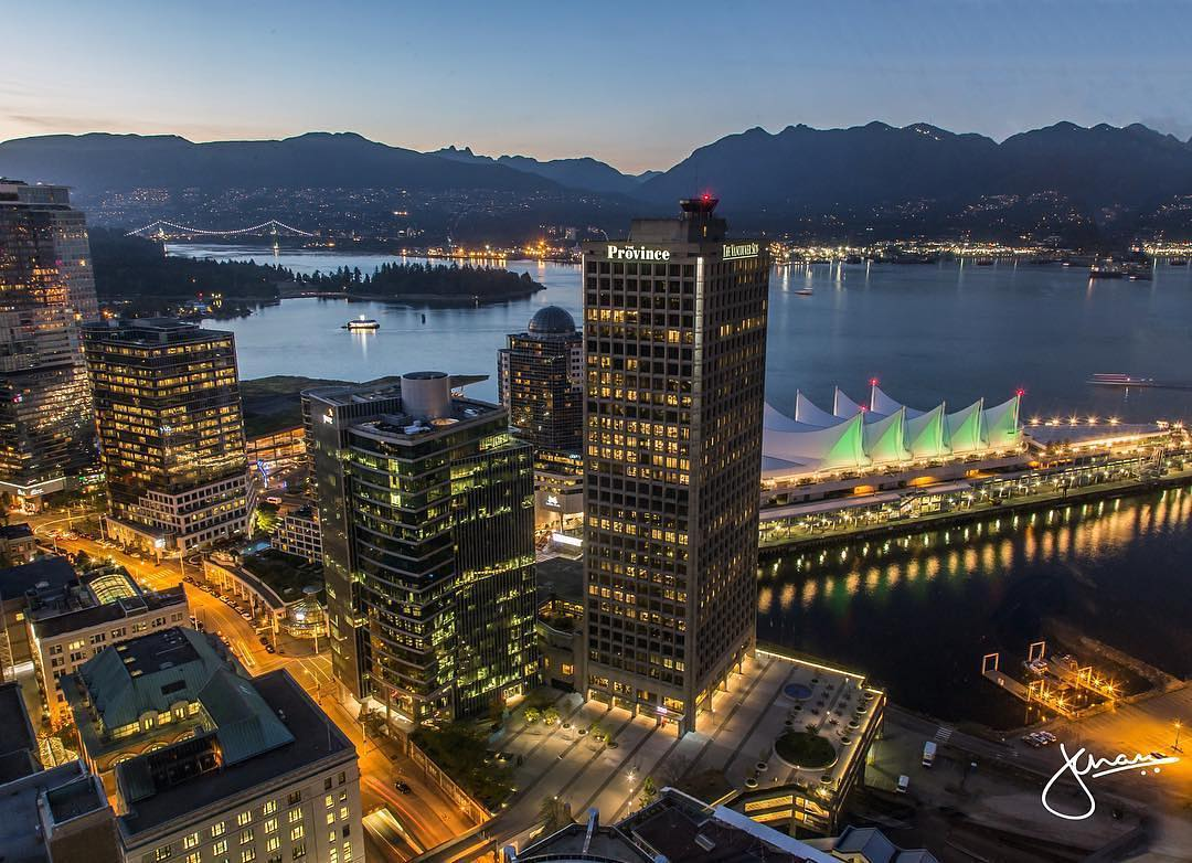 Vancouver Landmarks Downtown