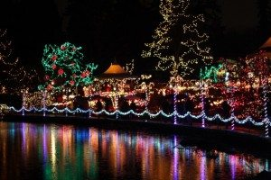 what to do in vancouver holiday traditions VanDusen Festival of Lights
