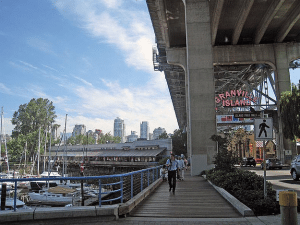 Granville Island wellness where to eat in vancouver