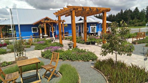 kid-friendly vancouver Krause Berry Farm Entrance