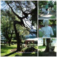 weekend getaway Harrison Hot Springs Gardens