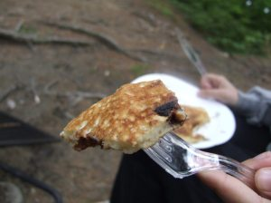 camp meals pancakes