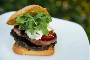 bbq portobello mushroom burgers