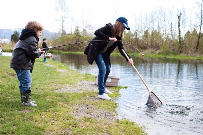 fraser valley trout hatchery