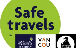 Safe Travels Tourism Vancouver Stamp