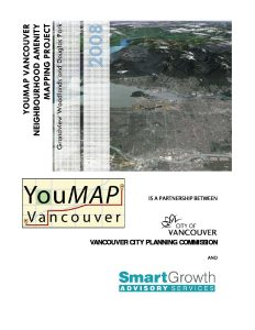 Cover of YouMAP Vancouver: Neighbourhood Mapping Project report, 2008