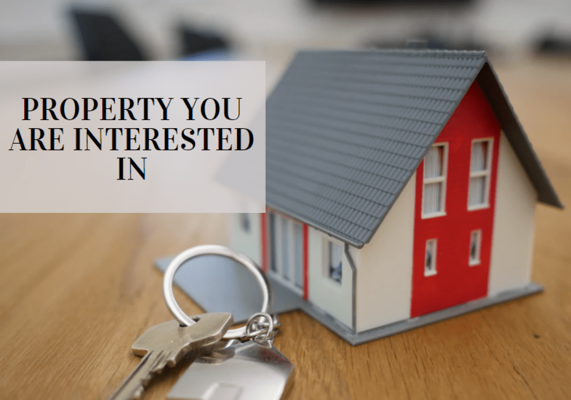 Real estate property Requirement