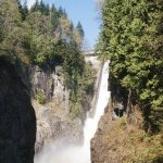 Cleveland Dam Falls at Capilano River Regional Park