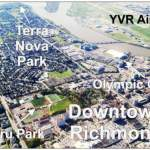 Downtown Richmond Aerial View Map