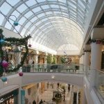 Interior of Metrotown in Burnaby