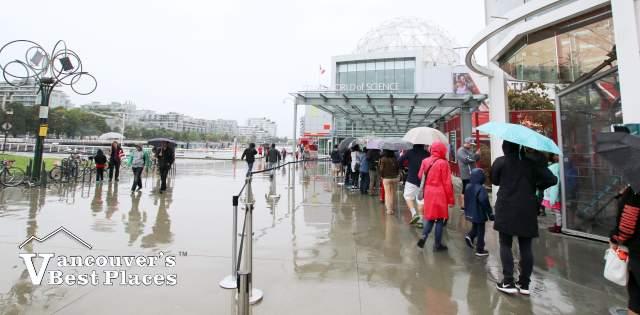 Rainy Day Science World Lineup