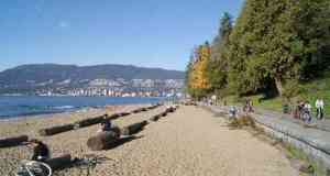 Stanley Park Seawall by Third Beach