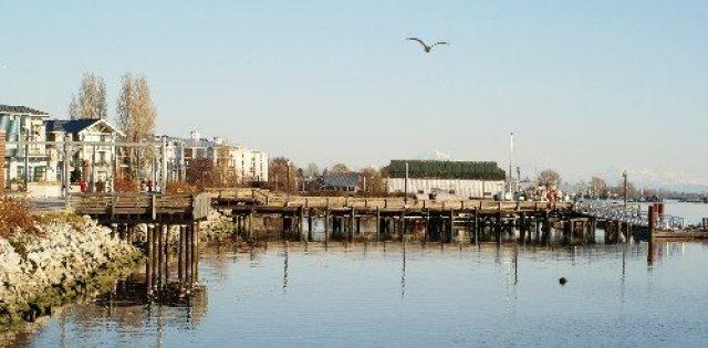 Steveston Village along the Waterfront