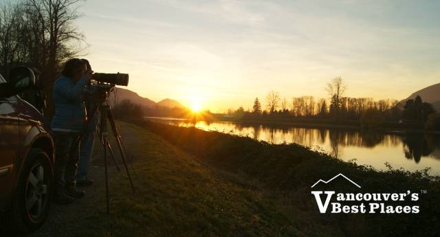Sunset Photography Along the River