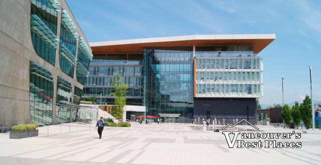 Surrey Library and City Hall