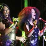 The Pointer Sisters on Stage