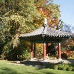 VanDusen Garden's Korean Pavillion in the fall