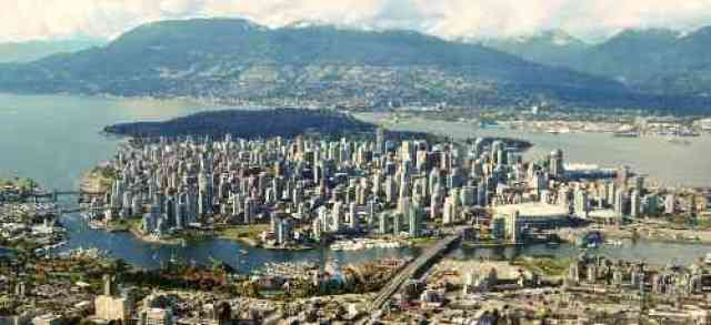 Vancouver and North Shore Mountains