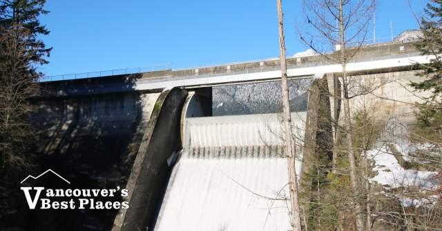 Waterfall at Cleveland Dam