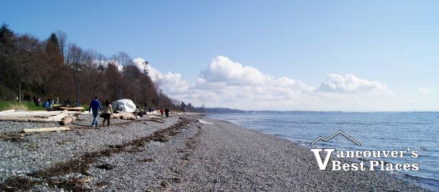 Beach at White Rock