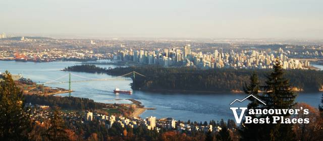 Lower Mainland View from Cypress