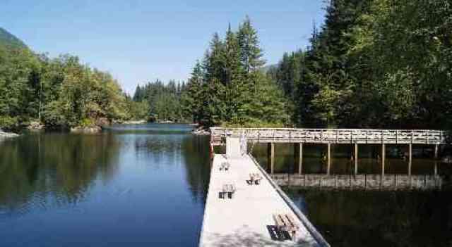 Rice Lake Dock