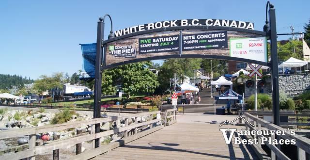 A White Rock landmark