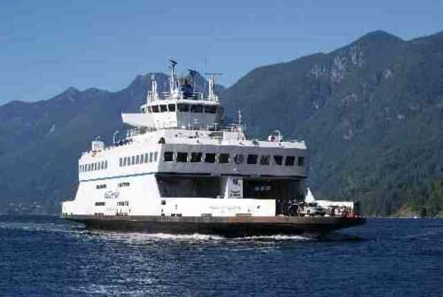 BC Ferry to Bowen Island