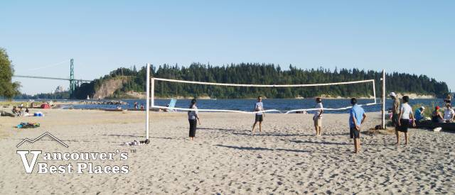 Beach Volleyball at Ambleside