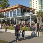 Cactus Club restaurant at English Bay in Vancouver