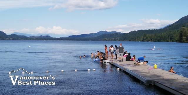 Cultus Lake at Entrance Bay