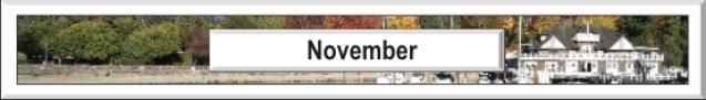 November in Vancouver
